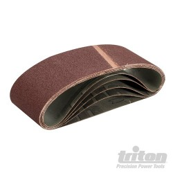Sanding Belt 75 x 533mm 5pk - 60 Grit