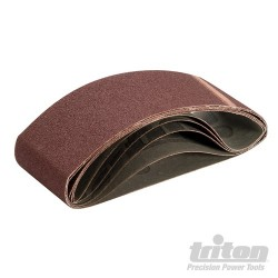Sanding Belt 76 x 533mm 5pk - 80 Grit