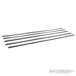Wytrzymala aluminiowa listwa uszczelniajaca do drzwi - 4 x 1029 mm oraz 1 x 914 mm