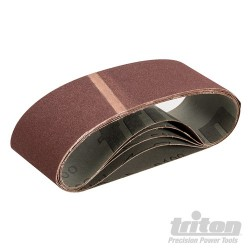 Sanding Belt 75 x 533mm 5pk - 100 Grit