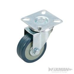 Kólko skretne gumowe - 50 mm 50 kg