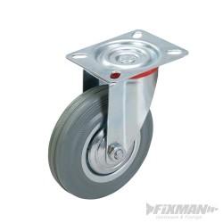 Gumové otočné kolečko - 125mm 100kg
