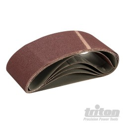 Sanding Belt 100 x 560mm 5pk - 80 Grit