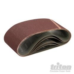 Tasma szlifierska 100 x 560 mm, 5 szt. - P 100