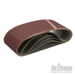 Sanding Belt 100 x 610mm 5pk - 60 Grit