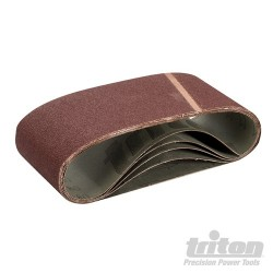 Sanding Belt 100 x 610mm 5pk - 80 Grit