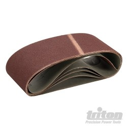 Sanding Belt 100 x 610mm 5pk - 100 Grit