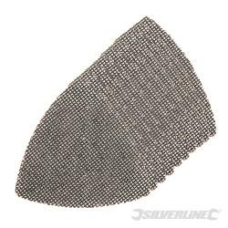 Trójkatna siatka scierna na rzep 105 mm, 10 szt. - 4 x P40, 4 x P80, 2 x P120