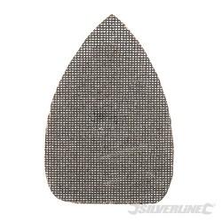 Trójkatna siatka scierna na rzep 140 x 100 mm, 10 szt. - P 80