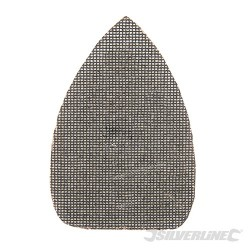 Hook & Loop Mesh Triangle Sheets 140 x 100mm 10pk - 120 Grit