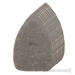 Hook & Loop Mesh Triangle Sheets 140 x 100mm 10pk - 4 x 40G, 4 x 80G, 2 x 120G