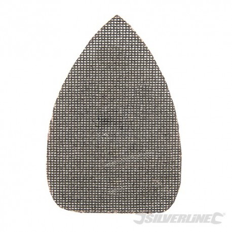 Hook & Loop Mesh Triangle Sheets 150 x 100mm 10pk - 80 Grit