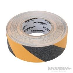 Anti-Slip Tape - 50mm x 18m Black/Yellow