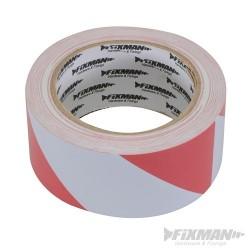 Hazard Tape - 50mm x 33m Red/White