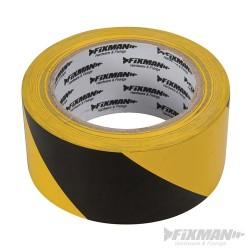 Hazard Tape - 50mm x 33m Black/Yellow
