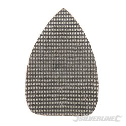 Trójkatna siatka scierna na rzep 150 x 100 mm, 10 szt. - P180