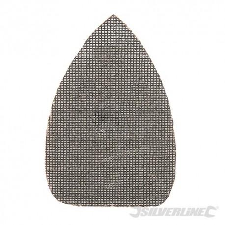 Hook & Loop Mesh Triangle Sheets 150 x 100mm 10pk - 180 Grit