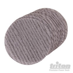 Hook & Loop Mesh Sanding Disc 125mm 10pk - 80 Grit