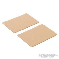 Self-Adhesive Felt Pad Protectors 2pk - 95 x 68mm