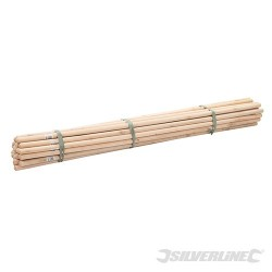 "Broom Handles - 5 x 1-1/8"" Dia 30pce"