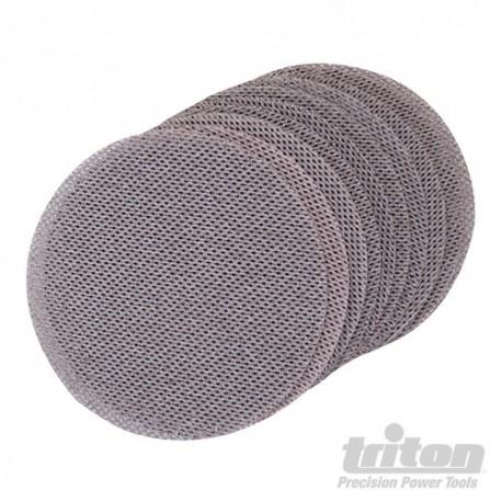 Hook & Loop Mesh Sanding Disc 150mm 10pk - 240 Grit