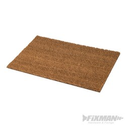 PVC Back-Tufted Coir Mat - 350 x 600mm