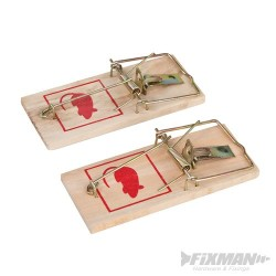 Wooden Mouse Trap 2pk - 2pk