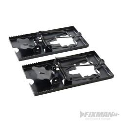 Metal Mouse Trap 2pk - 115 x 60mm