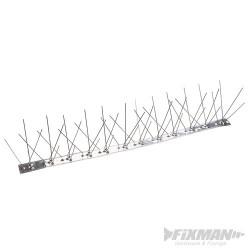 Kovové hrotové pásy proti ptákům - 10 ks - 500mm (4 Spike)