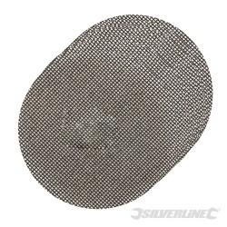 Tarczowa siatka scierna na rzep 115 mm, 10 szt. - 4 x P40, 4 x P80, 2 x P120