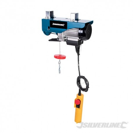 Silverline Elektrický kladkostroj 250 kg - 500W 264782 5024763041563