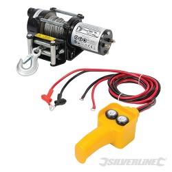 Elektryczna wyciagarka linowa 12 V - 2000 lb