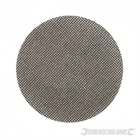 Hook & Loop Mesh Discs 125mm 10pk - 120Grit
