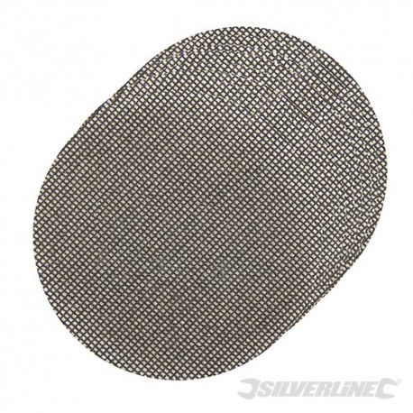 Hook & Loop Mesh Discs 125mm 10pk - 4 x 40G, 4 x 80G, 2 x 120G