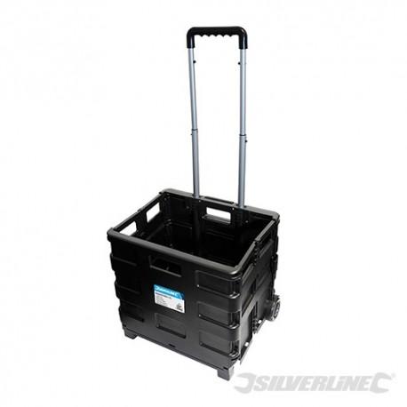 Silverline Skládací vozík s kolečky - 25kg 633400 5024763042089