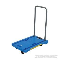 Skladany polipropylenowy wózek magazynowy - 100 kg