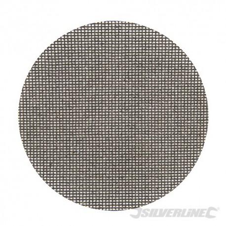 Tarczowa siatka scierna na rzep 150 mm, 10 szt. - P80