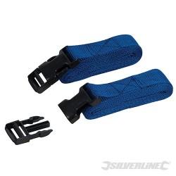 Clip Buckle Straps 2pk - 2m x 33mm