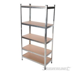 Boltless Freestanding Shelving Unit - 5-Tier