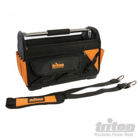 Triton Tool Bag Open Tote Hard Base - 400 x 190 x 280mm 529073 5024763139864