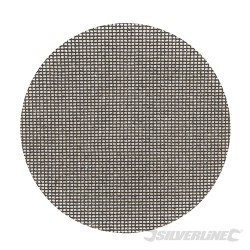 Hook & Loop Mesh Discs 225mm 10pk - 80 Grit
