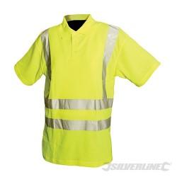 """Reflexní polo tričko Třída 2 - M 92-100cm (36-39"""")"""