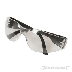 Wraparound Safety Glasses - Clear