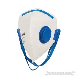 Fold Flat Valved Face Mask FFP2 NR - FFP2 NR Single
