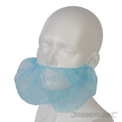 Disposable Beard Net 100pk - One Size