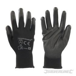 Black Palm Gloves - S 8