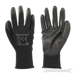 Black Palm Gloves - M 9