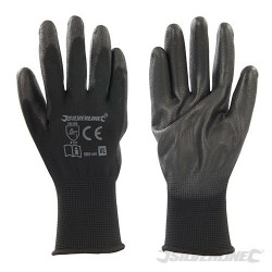 Black Palm Gloves - X-Large