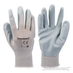 Foam Nylon Nitrile Gloves - L 10