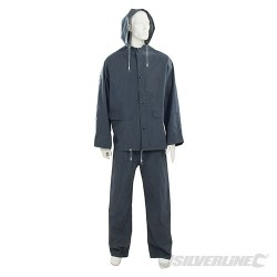 """Rain Suit Blue 2pce - L 74 - 130cm (29 - 51"""")"""